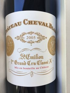2005 Chateau Cheval Blanc, Saint-Emilion 1er Grand Cru Classé - 1 bottle