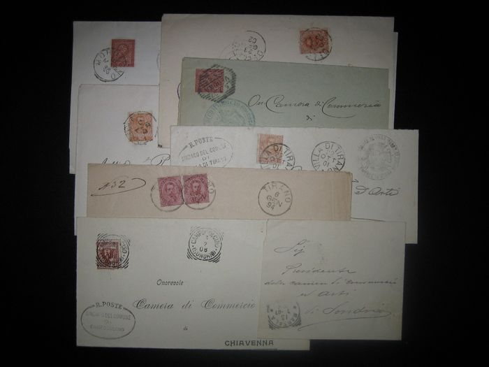 Italy, Kingdom, late 19th century / early 20th century – Lot of 20 letters
