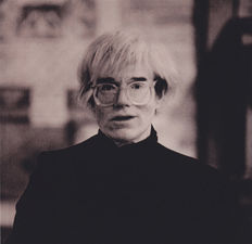 Don Bierman - Andy Warhol, Chicago, 1985