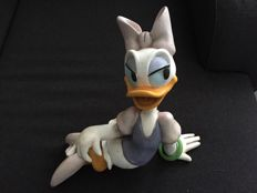 Disney, Walt - Figure - Daisy Duck lying - 1980s