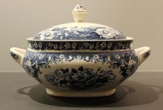 Balmoral - large tureen ceramic blue and white – early 20th century