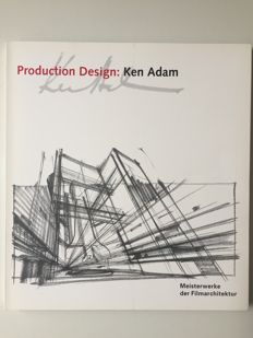 Ken Adam - rare exhibition catalog 1997 James Bond set designer