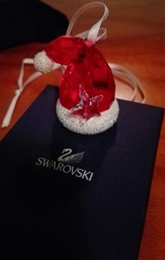 Swarovski - Christmas Star 2014 - Swarovski Santa hat ornament