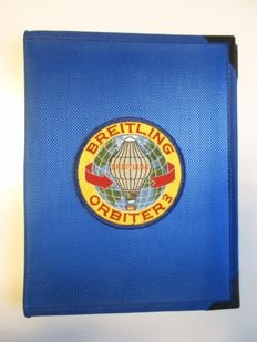 Breitling Orbiter 3 Notebook with pencil - 90s