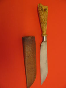 "Zeeuws ""Paeremes"" with ""ziel"" - horse knife"