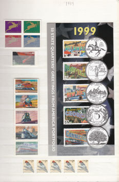 United States of America 1995/2011 - collection of stamps, sheets and cards