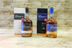 Irishman Founder's Reserve & 12 YO in original boxes - 2 Bottles