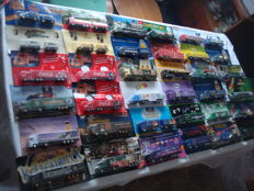 Numerous branded brewery trucks, advertising trucks, some classic ones and rarities, in original packaging, 80 pieces