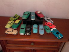 Norev - Scale 1/43 - Lot of 15 cars of the  1950/60s # 2