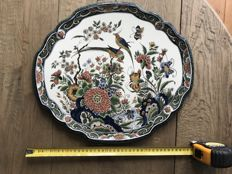 Porceleyne Fles - Hand painted decorative plate by M.Kremers