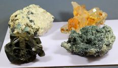 Lot of minerals from Pakistan - Aquamarine, Hematite, Siderite and Epidot - 2kg (4)