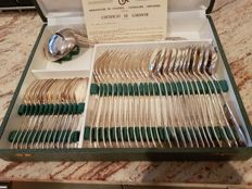"37 piece cutlery set, ""rococo"", new/mint condition"