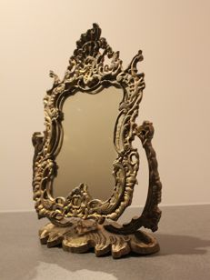 Psyche, antique mirror with stand 1st half of the 20th century, France