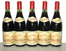 1974 Aloxe-Corton Domaine Edmond Cornu – Lot of 5 bottles