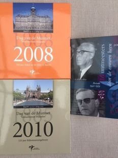 The Netherlands - Day of the coin set 2008 and 2010 + Mintmaster set 2007