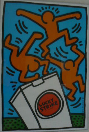 Keith Haring (naar) - For Lucky strike
