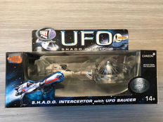 Product Enterprise/ Carlton -  S.H.A.D.O Interceptor with UFO Saucer Set - Gerry Anderson - 2003