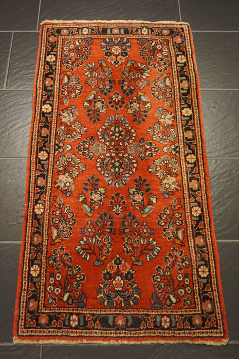 Persian carpet flowers Sarouk 65X130 cm made in Iran