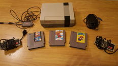 Nintendo NES with Super Mario Bros. 1, 2 and 3