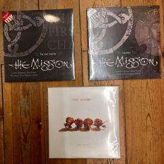 The Mission || 2× Live at London Shepherd's Bush Empire and God Is A Bullet || 5x LP in total || Great Releases!