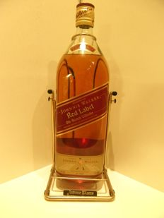 Johnnie Walker Red Label 4,5L - 1990s with cradle