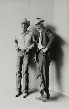 Terry O'Neill (1938-)Hatton/Archivio Farabola - Paul Newman and Lee Marvin, 'Pocket Money', 1972