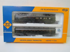 "Roco H0 - 04190S - Train set mB4D + Ces ""Blokkendoos"" of the NS"