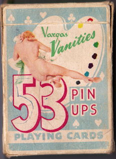 Playing Cards; [Alberto Vargas] - Vargas Vanities: 53 Pin Ups - 1950s