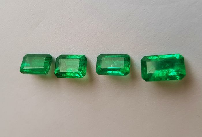 Lot Emeralds - 3.81 ct