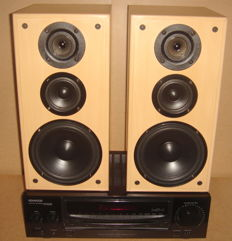 Kenwood Receiver Type KR-A3060 with Jamo speakers Type Studio 130