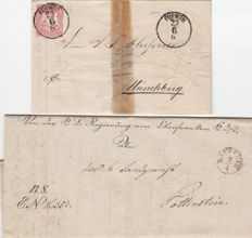 Bavaria - collection with approx. 130 postal items