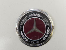 Vintage Mercedes Benz Club Car Badge by Automotif