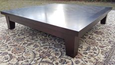 "Promemoria - Massive Oak Sofa Table ""Eduardo"""