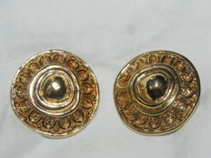 Christian Dior - vintage clip-on earrings