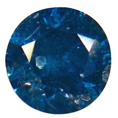 Diamond, 0.14 ct, Fancy Intense Blue (treated), I2 Clarity  - DG1507 - NO RESERVE PRICE