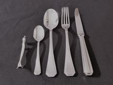 6 person silver plated Dinner set - approx. the 60's/70'sFrance