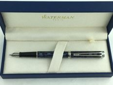 Waterman Harmonie Fountain Pen Blue checkered CT