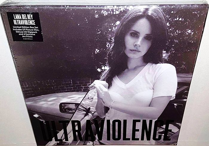 Lana Del Rey Ultraviolence Limited Edition Box Set