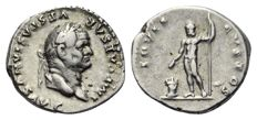 Roman Empire - VESPASIAN (69-79AD), AR Denarius (Jupiter) - 19mm; 3.70g - RIC 849