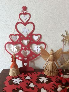 Collection of Scandinavian Christmas decoration