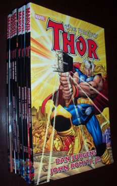 Collection of 8x Marvel Comics - Thor - Trade Paperbacks