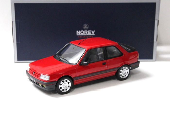 Norev - Scale 1/18 - Peugeot 309 GTI - Red