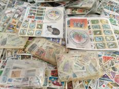 World - 240 stamp packs with a lot of topical material, over 28,000 stamps including blocks