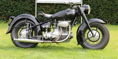 Sunbeam - Early S7 - 500 cc - 1st model - 1948