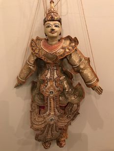 Puppet doll from Thailand - 2nd half 20th century