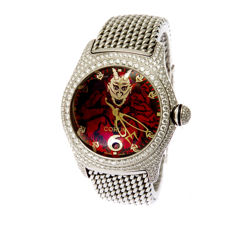 "Corum Bubble Lucifer ""The Devil Made Me Do it"" -men's watch"
