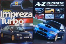 2 Books : Subaru Impreza Turbo  +  A-Z of Japanese Performance Cars