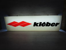 Kléber - Double-sided Lightbox - 1970s - 100 x 28 x 16 cm - Rare