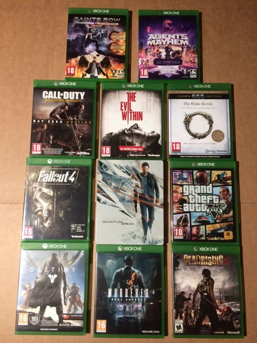 Lot of 11 Xbox One games as new - Catawiki