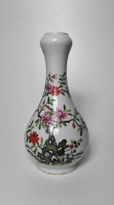 Pastel vase, early twentieth century.